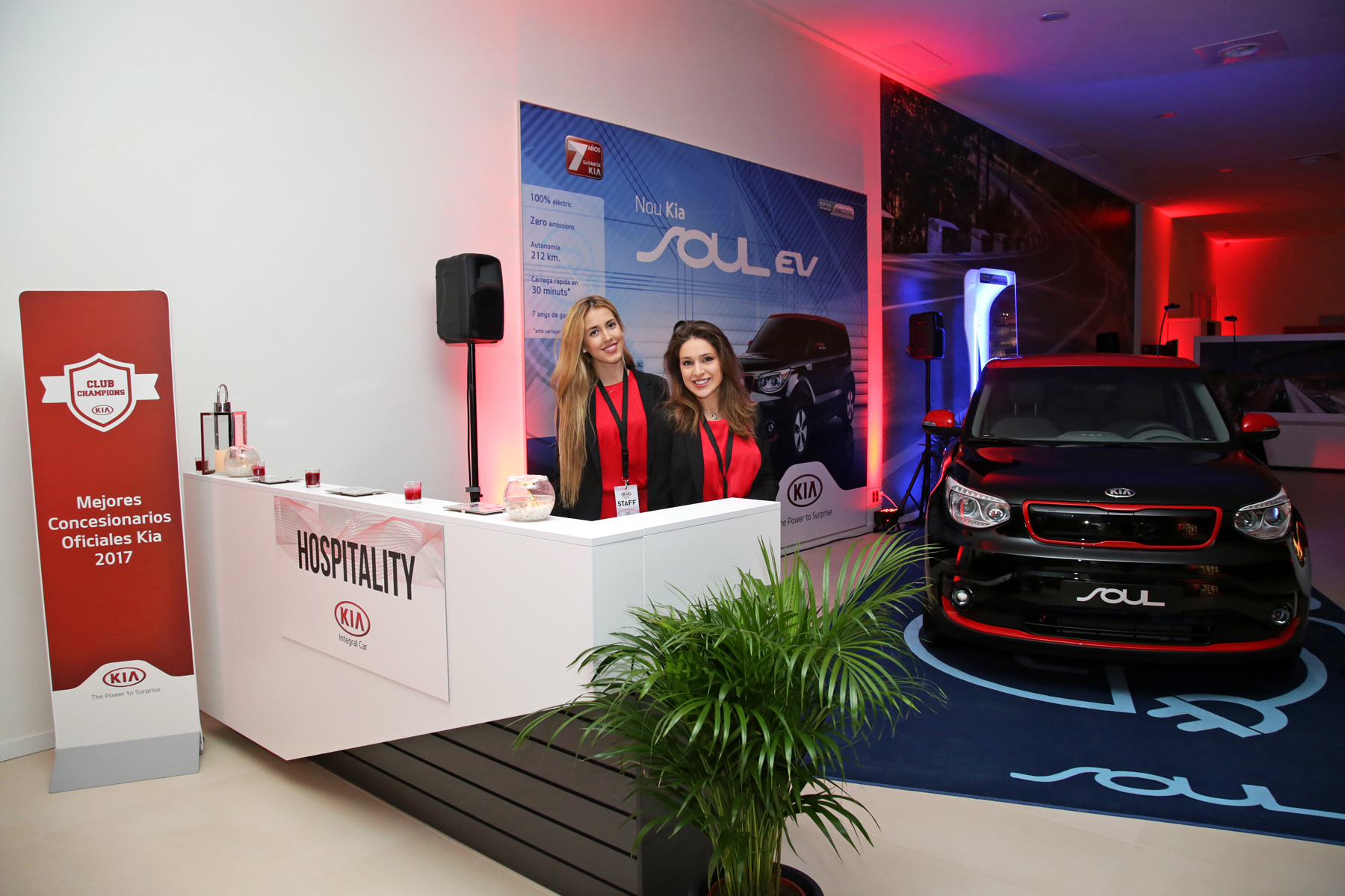 Inauguración KIA Integral Car