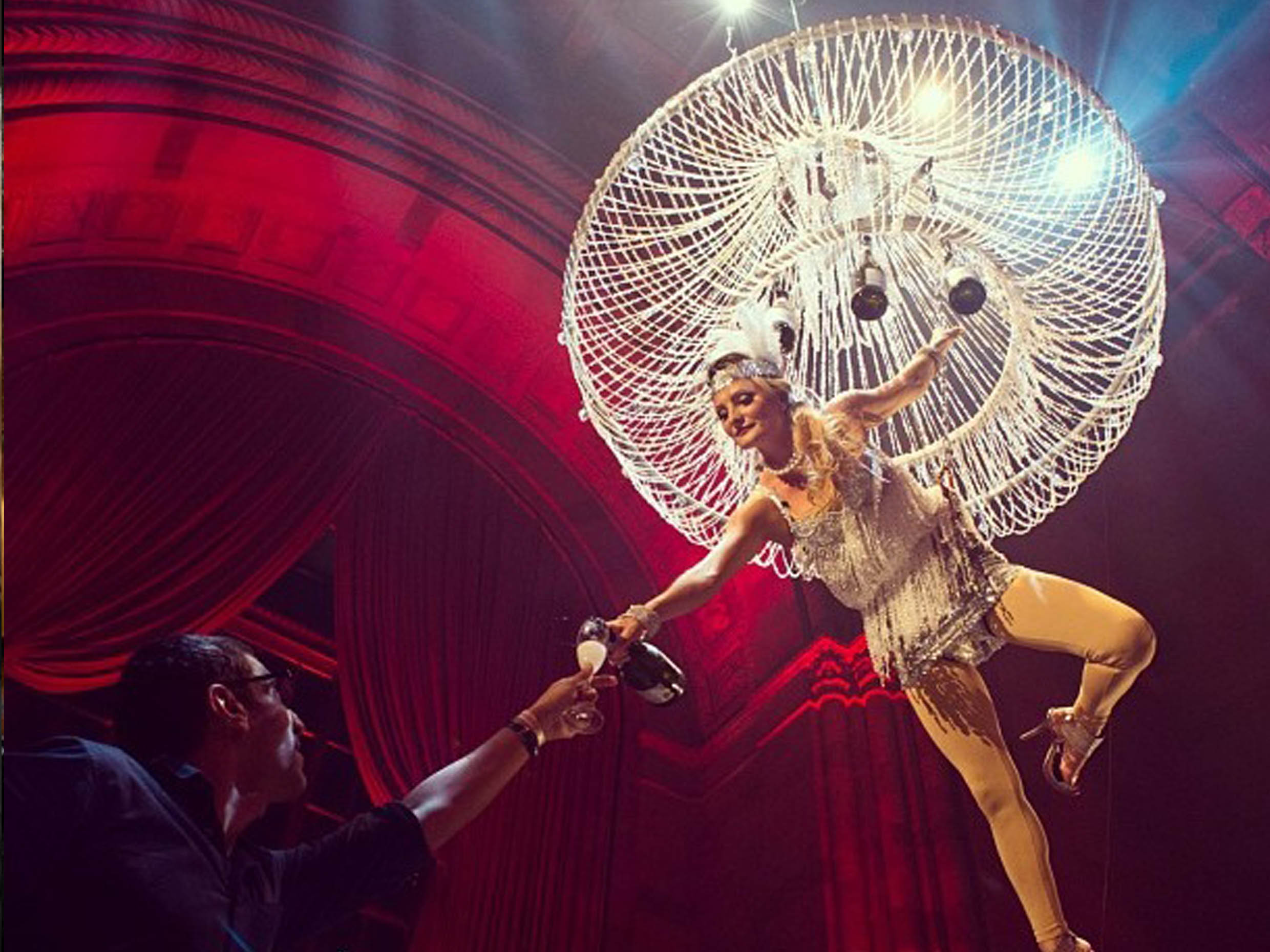 Eventos barcelona event planning companies animations champagne champagne chandelier companies organizing events aloadofball Choice Image
